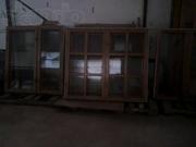 Продам 6 деревянных окон Масив 4 двери 100000т
