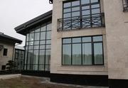Дерево-алюминиевые окна из сосны с Белоруссии Астана