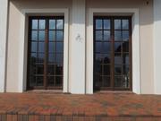 Дерево-алюминиевые окна из сосны с Белоруссии Казахстан