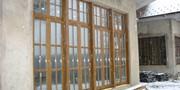 Окна из лиственницы с Европы Кокшетау